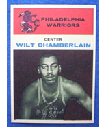 1961/62 Fleer Basketball #8 Wilt Chamberlain [Philadelphia Warriors] Roo... - $3.25