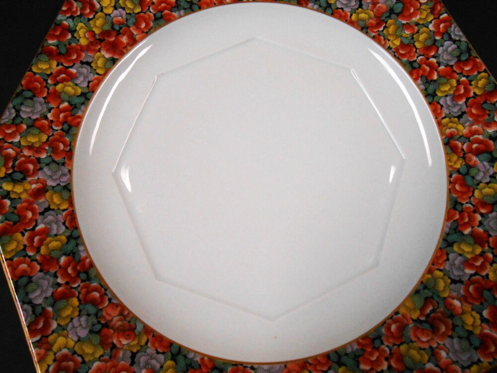 "Primary image for LARGE OCTAGON PLATTER DECORATIVE 13 1/2"" ACROSS ROSENTHAL SELB BAVARIA 1957 ON B"
