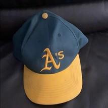 Oakland a's green mlb merchandise hat size xs - $28.71