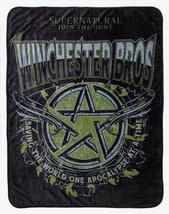 "Supernatural Winchester Bros. Super Soft Fleece Throw Blanket 45"" X 60"" - $39.10"