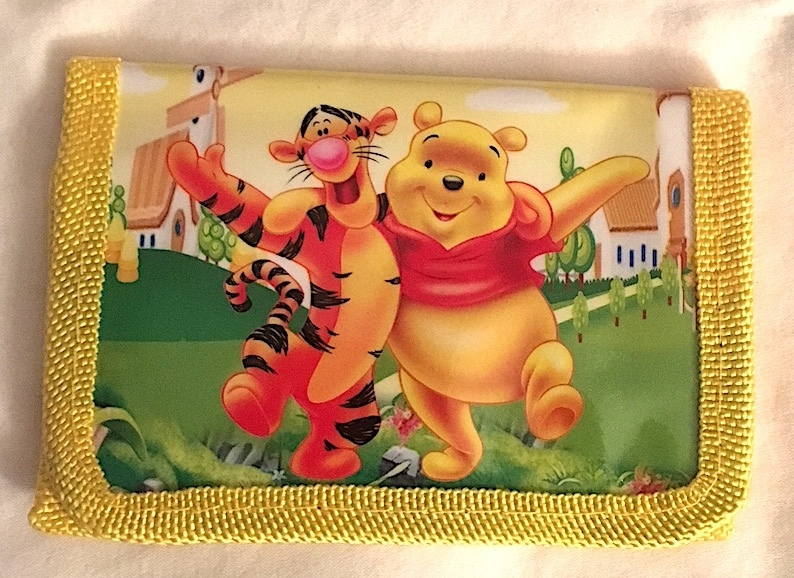 Disney Winnie-The-Pooh & Tigger Children's Wallet More Characters Available Too!