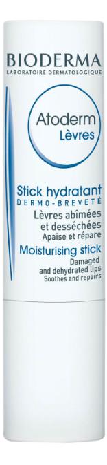 Bioderma  Atoderm Levres Moisturizing Lip Stick Balm 4g