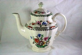 Spode Chinese Rose 5 Cup Coffee Pot With Lid 2/9253 - $166.31