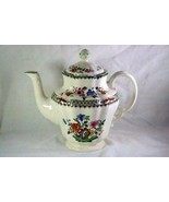 Spode Chinese Rose 5 Cup Coffee Pot With Lid 2/9253 - $151.19