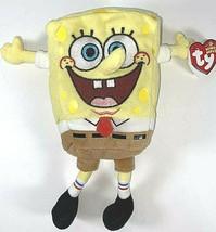 SpongeBob 2006 & Patrick 2001 talking Ty Beanie Babies Plush Stuffed Animals  - $24.09