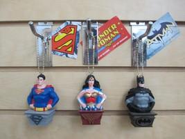 DC Comics Superhero Ornaments - Wonder Woman, Superman, Batman - Set of 3 - $14.95