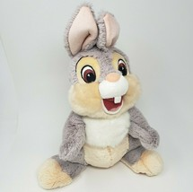 DISNEY STORE DISNEYLAND THUMPER GREY BUNNY RABBIT STUFFED ANIMAL PLUSH T... - $32.73