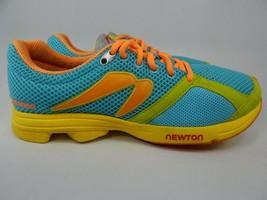 Newton Distance Size US 9 M (B) EU 40 Women's Running Shoes Blue Yellow 000613