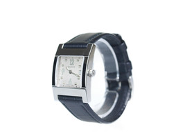 GUCCI 7700L Date Silver Dial Stainless Steel Leather Band Women's Quartz... - $262.50 CAD