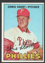 Philadelphia Phillies Chris Short 1967 Topps Baseball Card 395 ex mt - $5.99