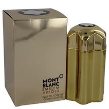 Mont Blanc Montblanc Emblem Absolu Cologne 3.4 Oz Eau De Toilette Spray image 2