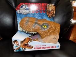 Jurassic World Chomping Tyrannosaurus Rex Head Hasbro 2015 NEW HTF - $24.90