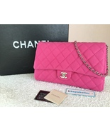 CHANEL PINK CAVIAR CLUTCH WITH CHAIN / NEW TIME... - $2,999.00