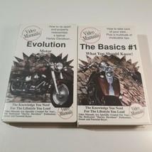 Harley-Davidson Video Manuals Evolution Motor & The Basics #1 Repair Biker VHS  - $49.99