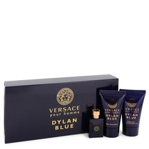 Versace Pour Homme Dylan Blue by Versace Gift Set -- 0.17 oz Mini EDT + ... - $16.25