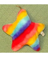 "Vintage RAINBOW STAR Plush SUPERIOR TOY & NOVELTY Stuffed 7"" with Hangin... - $24.75"