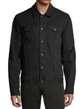 George Men's Classic Jean Button Flap Pockets Denim Trucker Jacket image 1