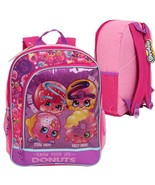 "Shopkins Backpack Pink Girls NEW  16"" - $24.00"