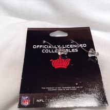 NEW Aminco Certified NFL NY Giants Earring/Necklace/Pin Jewelry Set image 3
