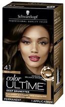 Schwarzkopf Color Ultime Hair Color Cream, 4.1 Rich Brown - $11.47