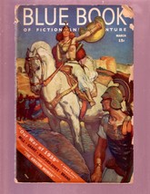 BLUE BOOK-3/1939 PULP-HERBERT MORTON STOOPS-AUST.BRIGGS G - $66.69