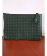Ipsy August 2019 Glam Bag Green Textured makeup bag. New. Bag only.  - $4.94