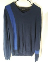 An item in the Fashion category: DKNY Small Navy & Royal Blue Knitted Sweater Pre-owned