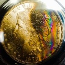 1879 S  MS61   Morgan Silver Dollar * INTENSE COLORS  *.633 - $161.70