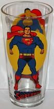 Vintage character glass SUPERMAN Pepsi moon Super series 1976 DC Comics n-mint - $13.49