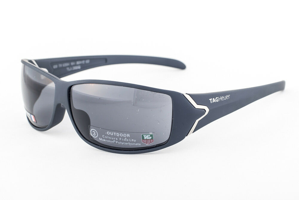 Primary image for Tag Heuer Racer 9204 Matte Blue / Gray Outdoor Sunglasses 9204 104