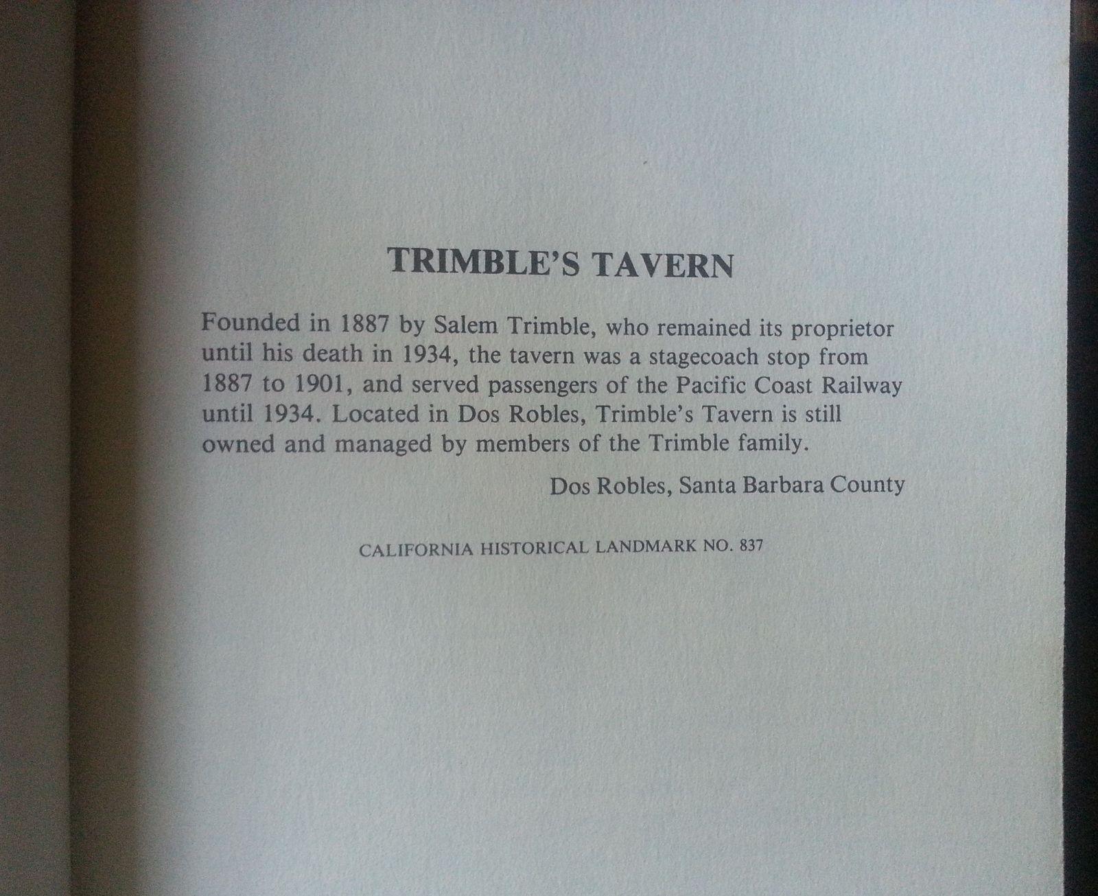 The Tavern by Irving Townsend 1979 HBDJ Santa Barbara