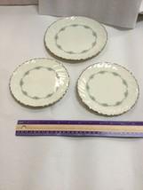 3 Beautiful Lenox Porcelain Plates ~ Musette ~ 1 Salad Plate & 2 Butter ... - $37.74