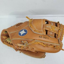 "Spalding Baseball Glove 10"" RHT 42-9311 Top Grain Leather Mint Leather c... - $24.70"