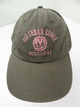 Big Cedar Lodge Missouri Adjustable Adult Cap Hat - $12.86