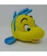 Vintage Mattel Disney Little Mermaid Flounder Fish Plush Friend Ariel 10... - $18.66