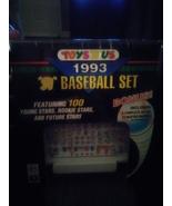 1993 toys r us baseball factory 100 card set brand new - $14.95