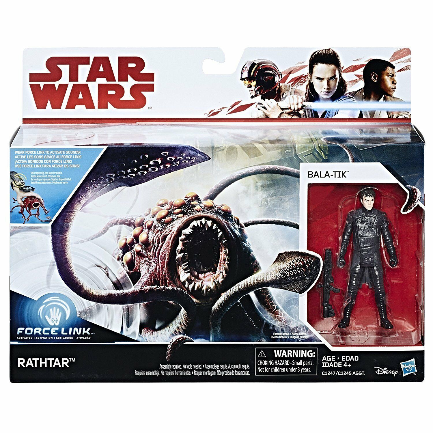 Primary image for BALA-TIK AND RATHTAR 3.75 inch FORCE LINK 2 pacK Hasbro STAR WARS Episode 7 new!