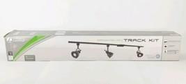 Integrated LED Track Light Kit Lithonia Lighting 3-Light Oil Rubbed Bron... - $116.30