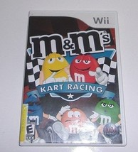 M&M's Kart Racing (Nintendo Wii, 2007) - $5.36