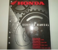 2003 Honda TRX350TM Fourtrax 350 ™ Te Fm Fe Service Repair Shop Manual Oem New - $99.14