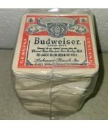 Vintage Budweiser Bud Beer Coasters Lot Bar Tavern - 100 count. - $34.54