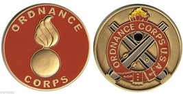 "ARMY ORDNANCE CORPS 1.75"" MILITARY CHALLENGE COIN - $16.24"