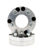 """5x4.5 5x114.3 to 4x156 USA Made Wheel Adapters 1/"""" Thick 12mm Studs x 2 Spacers"""