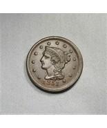 1851 Braided Hair Large Cent Coin AI108 - $154.73
