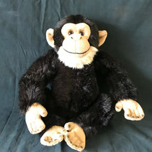 "Webkinz Gold Signature Chimpanzee plush 12"" Ganz No Code - $16.14"