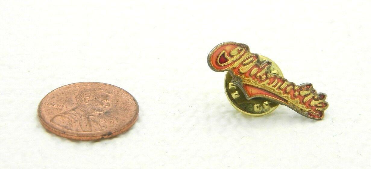 Vintage Late 1970's - 1980's Oldsmobile Car Logo Enamel Scatter Hat Lapel Pin