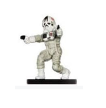 181st IMPERIAL PILOT 16 w/ STAT CARD Wizards of the Coast STAR WARS Mini... - $2.49