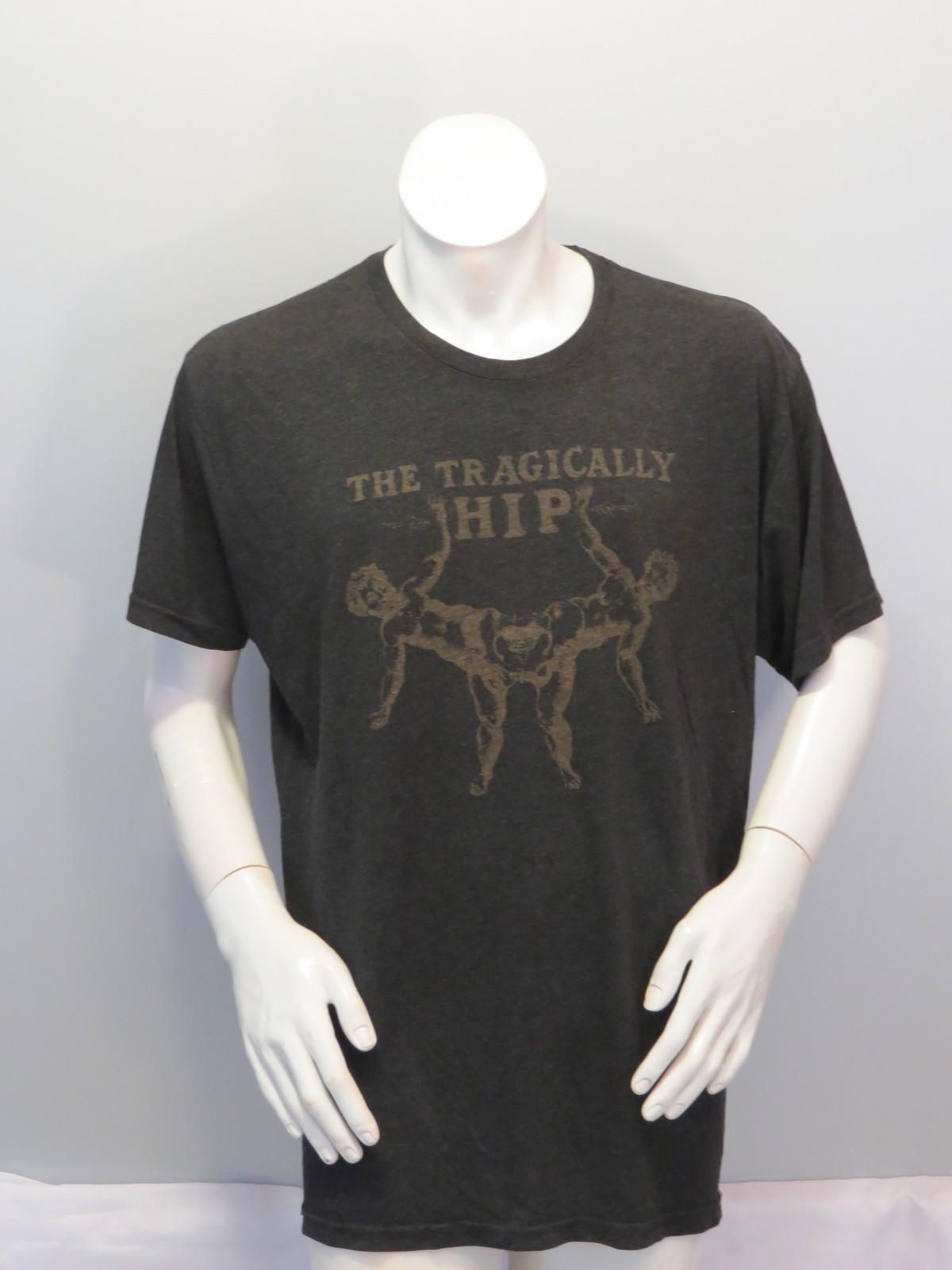 Vintage Tragically Hip Shirt - 1990s Record Store Promo - Men's XL