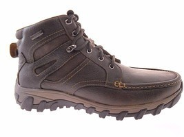 ROCKPORT COLD SPRING PLUS MOC HIGH MEN'S BROWN BOOTS SZ 9.5 W(WIDE), A12209 - $2.809,90 MXN
