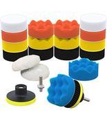 SCRUBIT Car Foam Drill Polishing Pad Kit 22 Pack, Includes 16 Detailing ... - $12.99